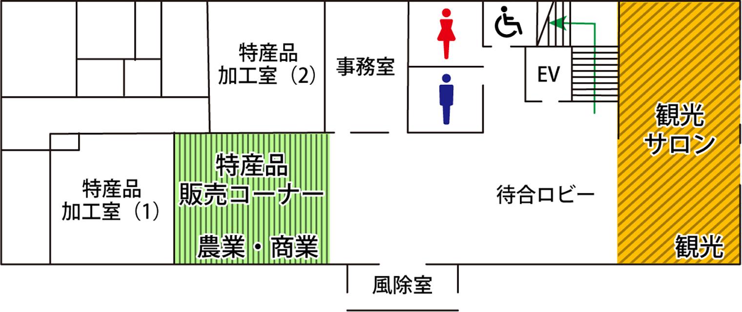 1階の見取り図